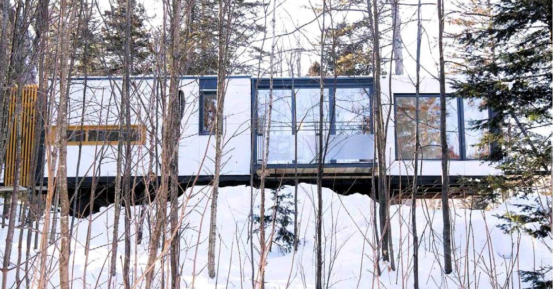 Vivre dans un conteneur for Transformer un conteneur en habitation