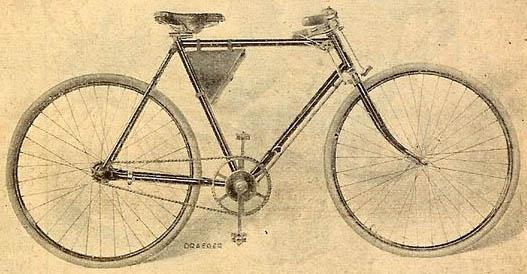 Ancienne Bicyclette rétro 1902 : les nouveautés cyclistes